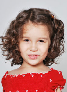 headshot of a child actress in dc
